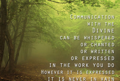 Communicating with the Spirit Rho Spiritual